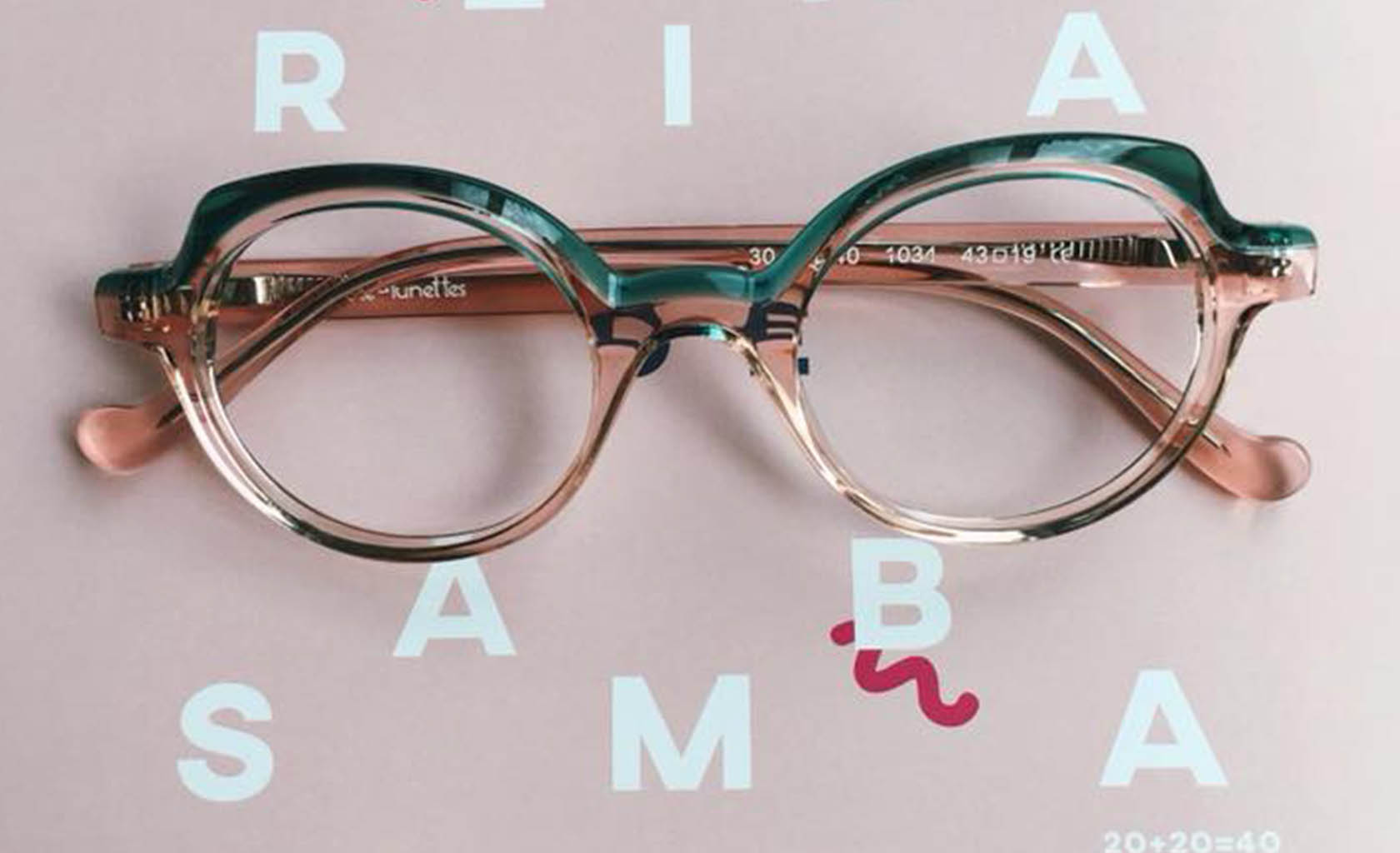Tête à lunettes